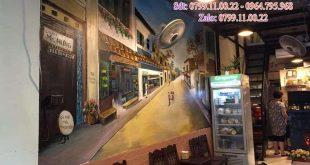 Dịch vụ vẽ tranh tường, vẽ tranh tường Cafe, vẽ tranh tường trà sữa, vẽ tranh tường trà chanh, vẽ tranh tường kem, vẽ tranh tường cà phê