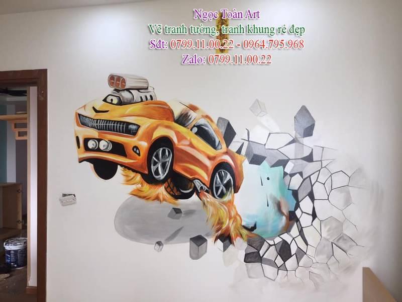 Dịch vụ vẽ tranh tường, vẽ tranh tường phòng bé, vẽ tranh tường phòng bé trai, vẽ tranh tường phòng bé gái, vẽ tranh tường cho bé