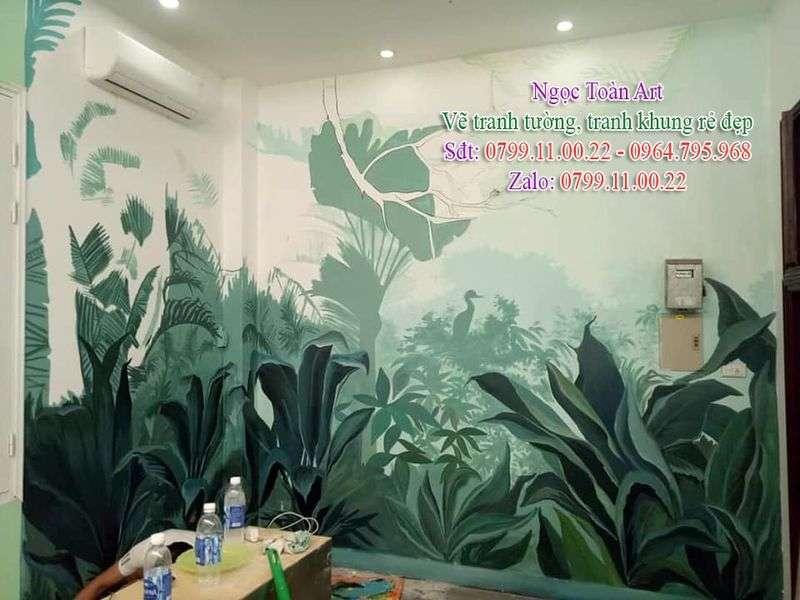 Dịch vụ vẽ tranh tường, vẽ tranh tường trang trí, vẽ tranh tường giá rẻ, vẽ tranh tường hoa lá, vẽ tranh nghệ thuật, vẽ tranh tường phòng ngủ, vẽ tranh tường đẹp